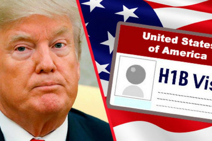 IT stocks slip as Trump signs order to restrict H-1B visa use;
