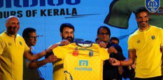 Kerala Blaster 2018 kit launch