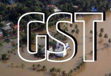 Kerala floods GST