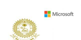 Kerala police Microsoft