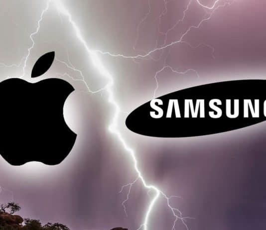 Apple and Samsung