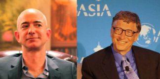 Jeff Bezos, Bill Gates