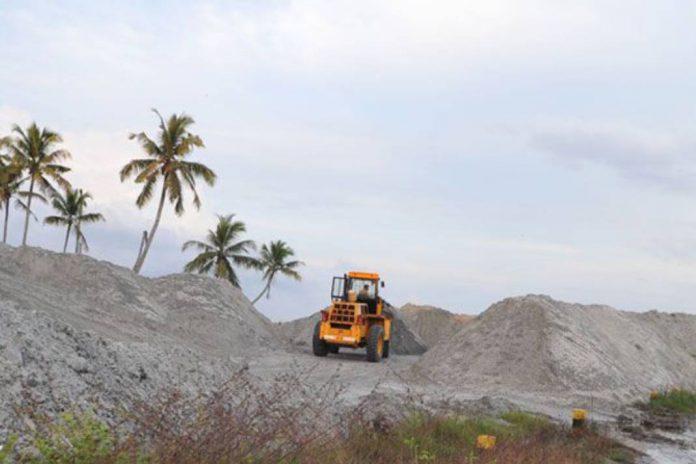 Alappad sand mining