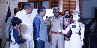 Kerala Police Robot