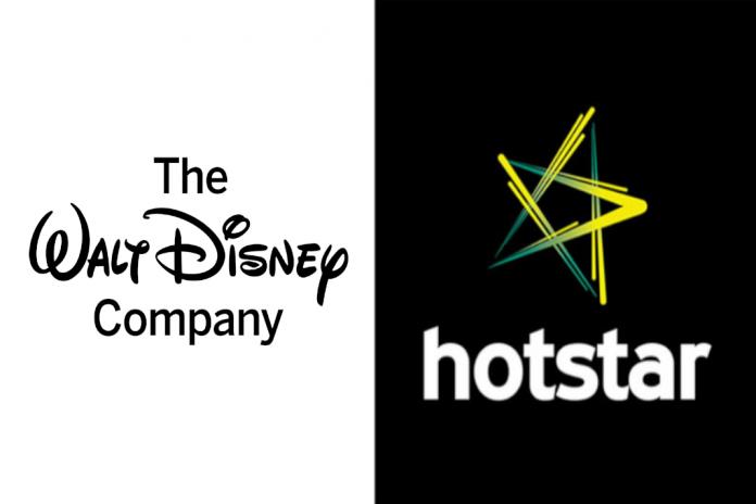 Hotstar & Disney logo