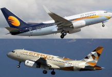 Jet airways Ethihad
