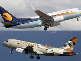 Jet airways Ethihad