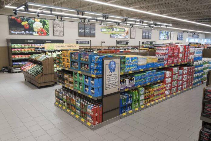 Aldi Store retail supermarket