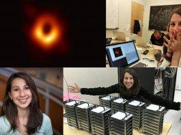 Kathie Bouman Blackhole image
