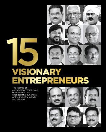 Cover of 15 Visionary Entrepreneurs book