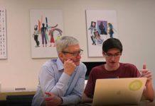 Tim Cook and Liam Rosenfeld