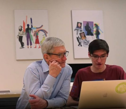 Tim Cook and Liam Rosenfeld