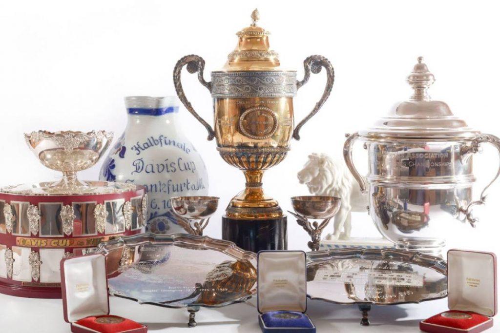 Boris Becker trophies for auction