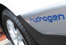 Hydrogen fuel car
