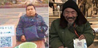 China beggars