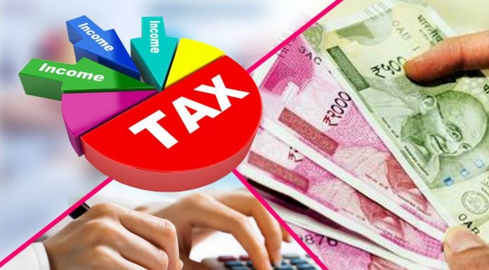 The change in income tax takes effect from today