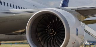 Rolls Royce Plc engine