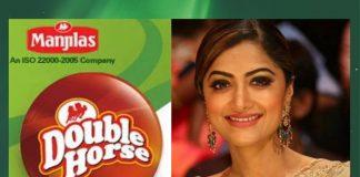 Mamta Mohandas to be Brand Ambassador of double horse