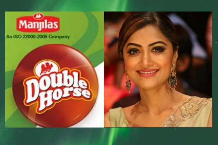 Mamta Mohandas to be Brand Ambassador of double horse