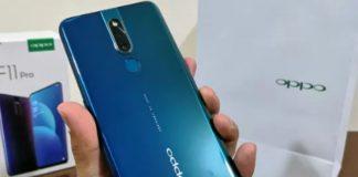 Oppo F11 Pro Blue