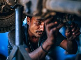 auto factory worker