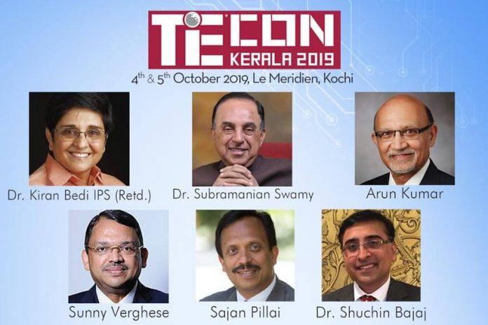 Tiecon Kerala 2019 Speakers