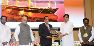 cochin shipyard gets central govt's award