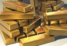 economic down turn:gold price is growing high