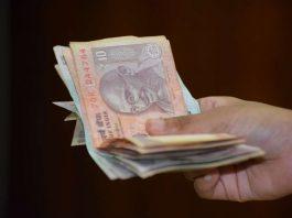 giving/lending money