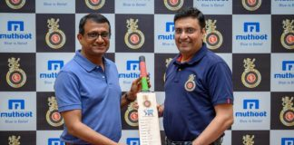 Muthoot Fincorp RCB Tie-up