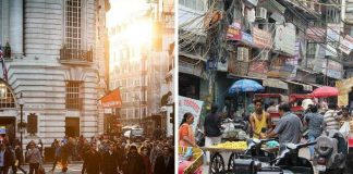 india and western economy
