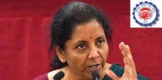 Nirmala Sitaram about EPF