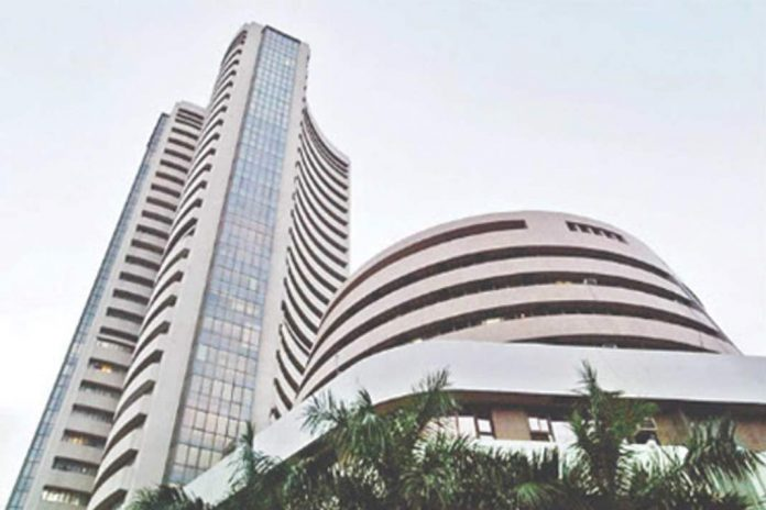 sensex up by 450 points