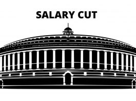 MP salary cut india