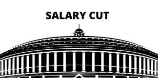 MP salary cut india