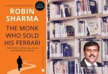 Robin Sharma- Monk Who Sold his Ferrari Book Cover