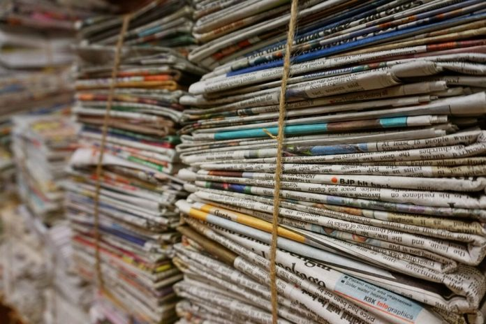 lockdown impact on news printing