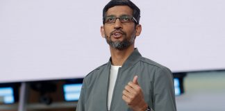 work from home to go on in google: sundar pichai