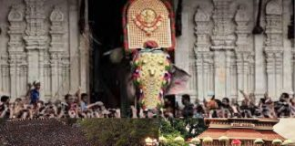 Thrissur Pooram in kerala cancelled for the first time in 58 years , due to corona virus