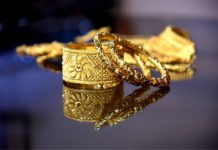 Gold prices today fall for the third time in 4 days