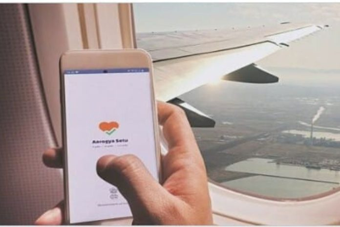 arogyasethu app made mandatory for domestic air travel