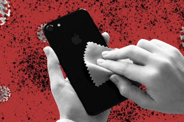 Here's how you should clean your phone to ward off Coronavirus