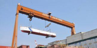 cochin shipyard profit up 44 %