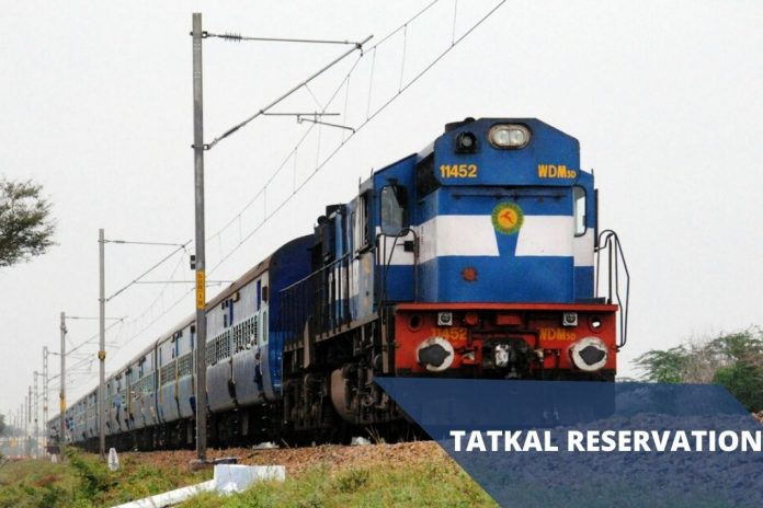 tatkal reservation from june 30