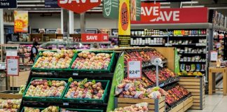 rise in supermarket