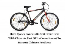 hero-cycles-cancels-rs-900-crores-contract-with-china