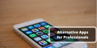 Alternative apps for professionals