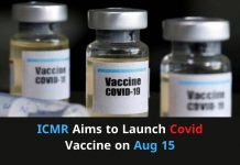 ICMR aims to launch covid vaccine on aug 15