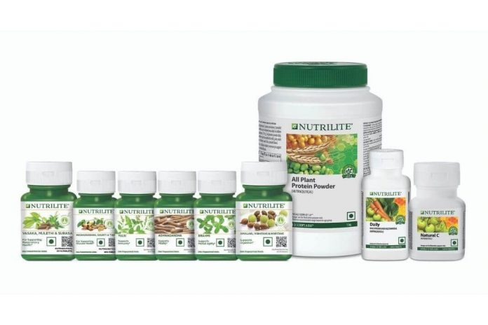 Nutrilite products range from Amway