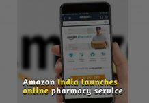 Amazon India launches online pharmacy service